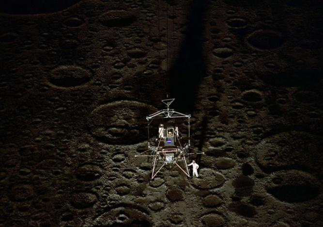 Neil Armstrong moon walk