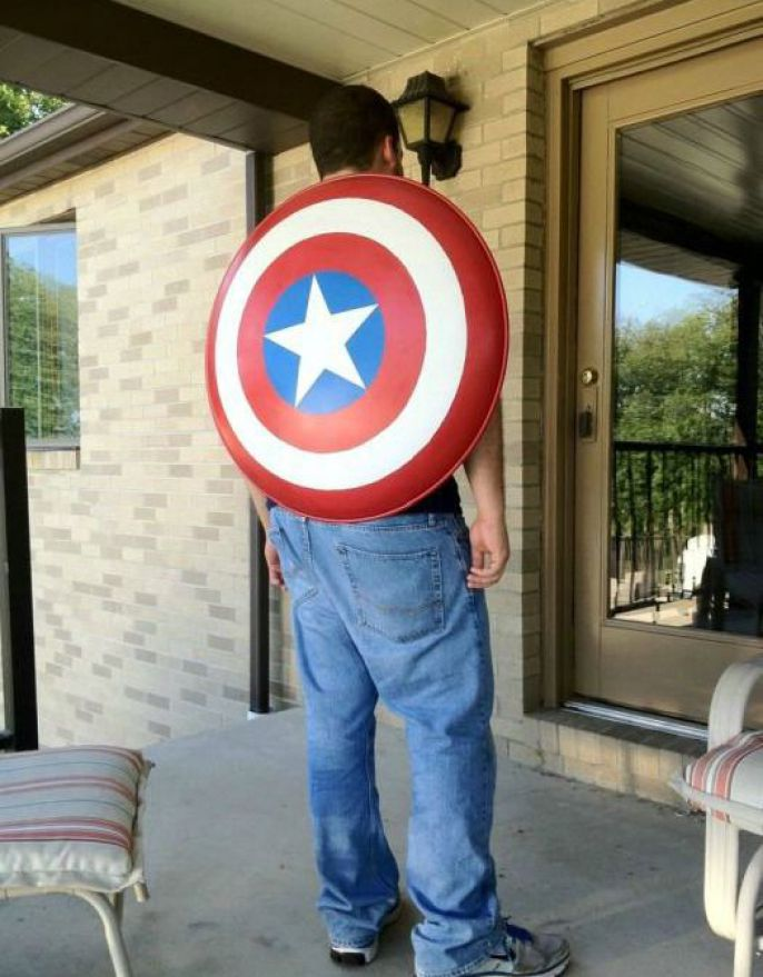 You are now Captain America