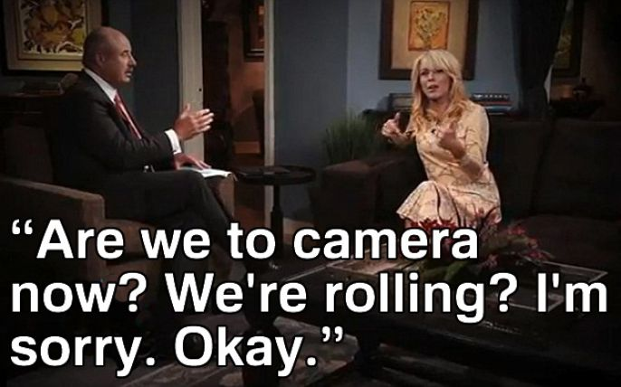 Dina Lohan is confused