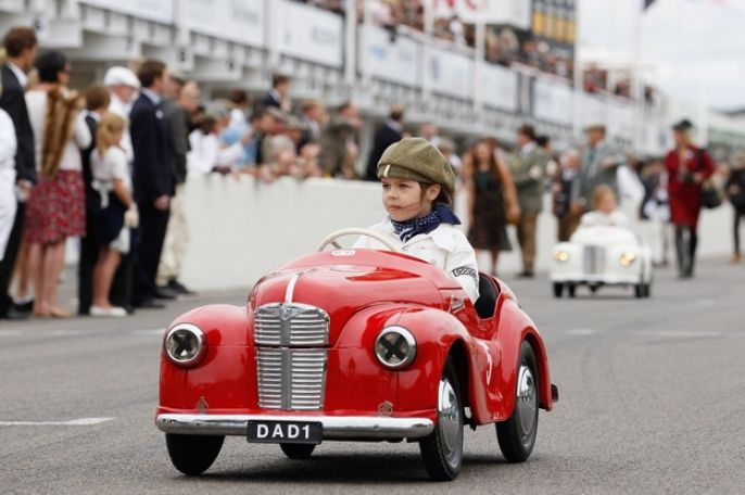 Goodwood Revival Race car