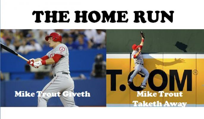 Mike Trout and the Home Run