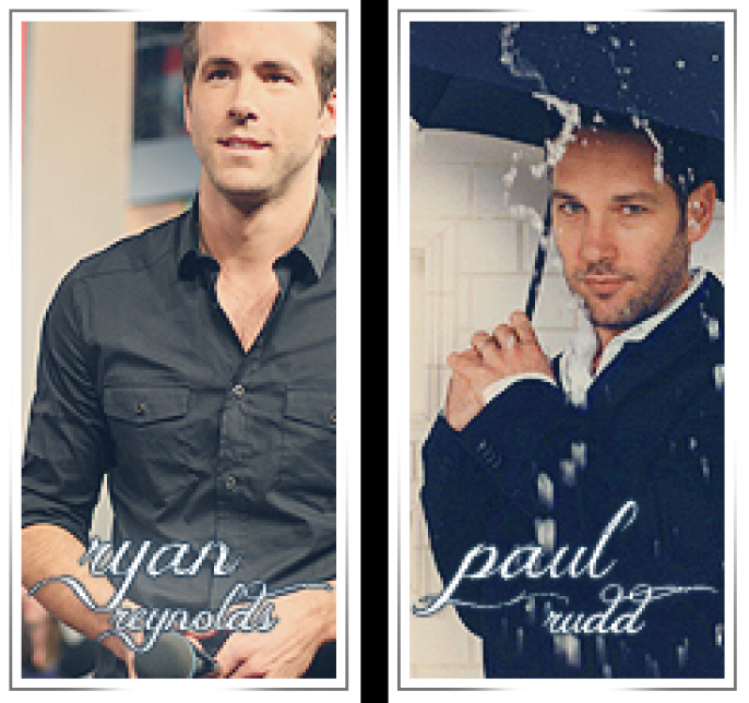 Ryan Reynolds, and Paul Rudd