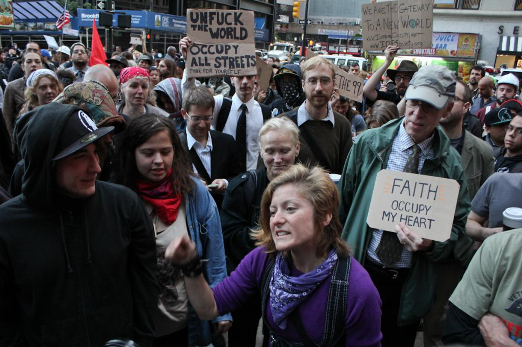 occupy wall street group