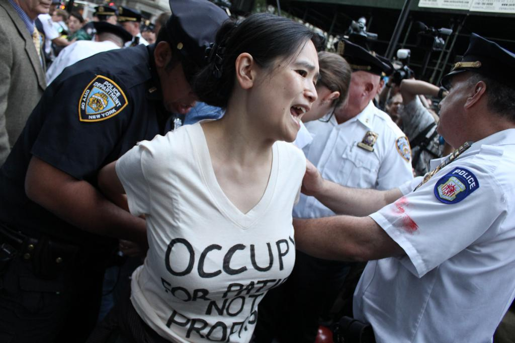 Occupy Wall Street Supported being arrested