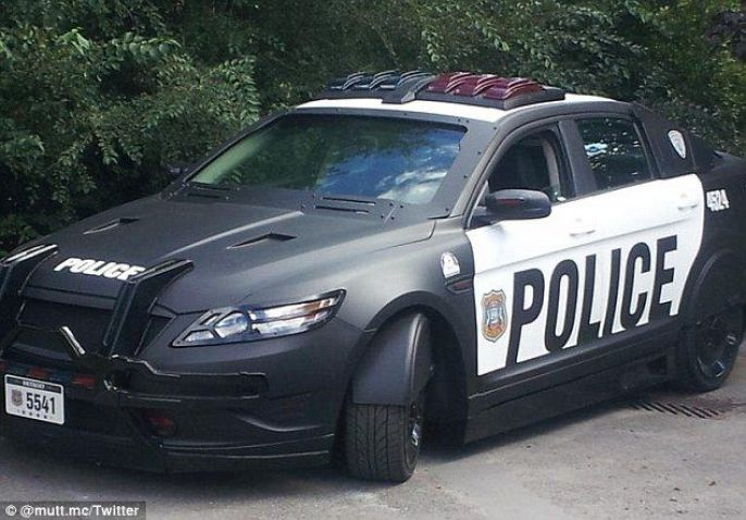 Cool Police Car