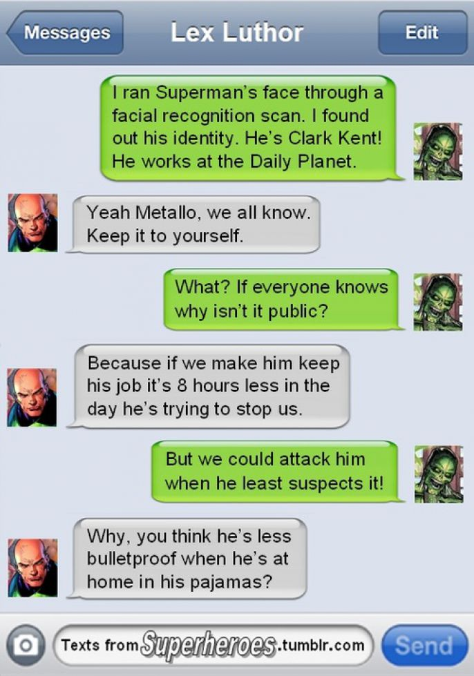 Metallo and Lex Luthor Discuss Superman