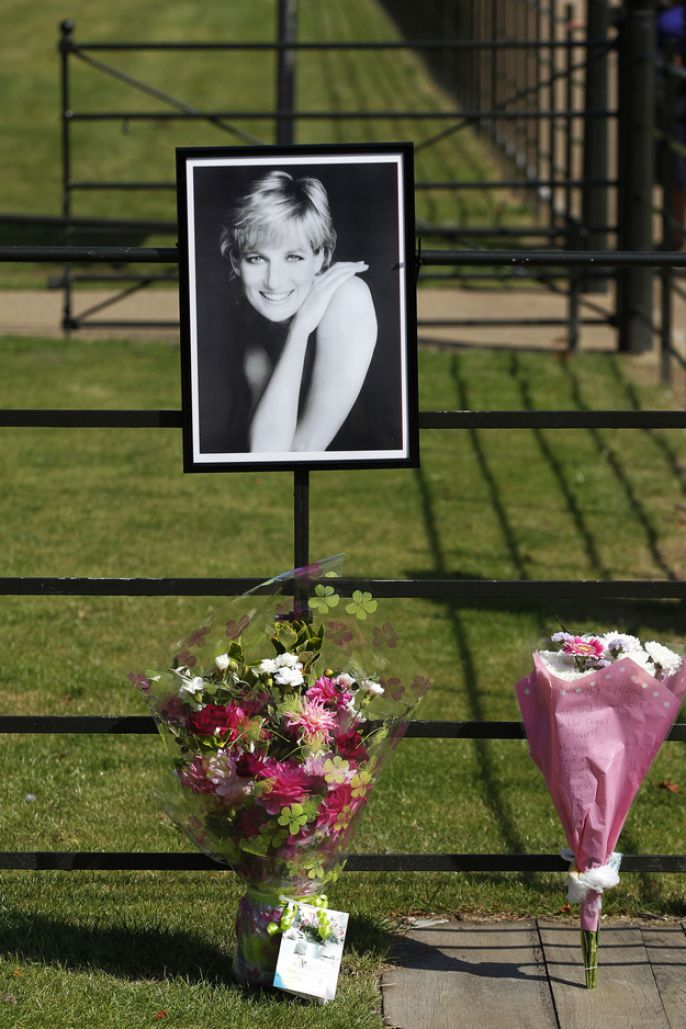 7. Princess Diana's death.