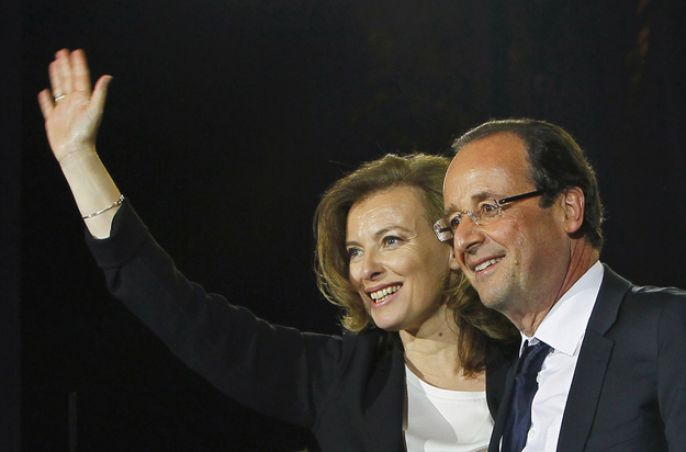 5. French President's girlfriend tries to bring down the tabloids.