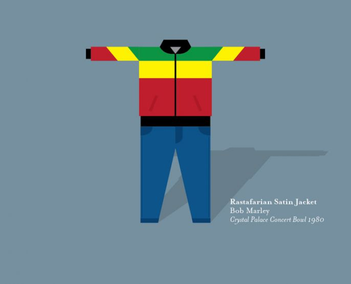 Rastafarian Satin Jacket