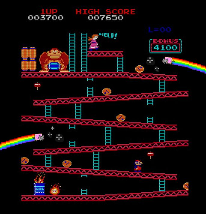 donkey Kong Magic Kittys
