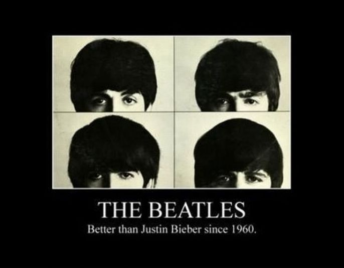 The Beatles will always be better than Bieber