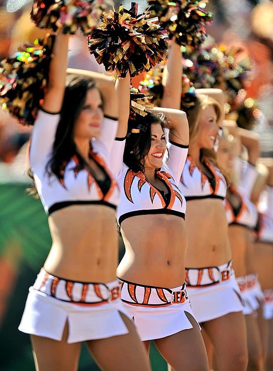 Bengals Cheerleaders are sexy too!