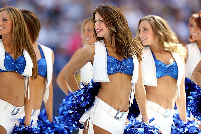 Colts Cheerleaders look back