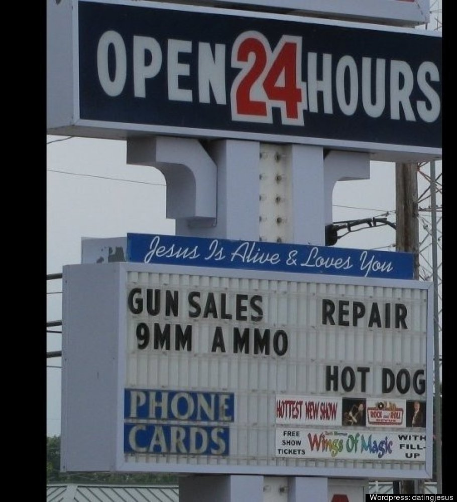 Guns and Gas Station
