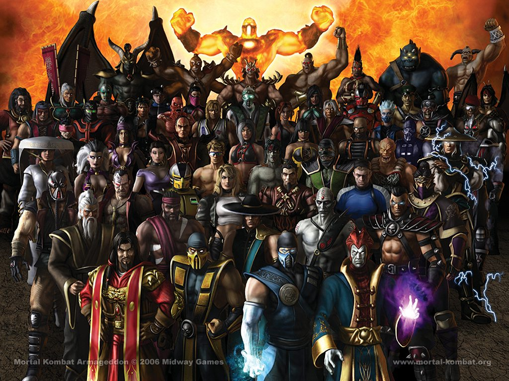 The Mortal Kombat Characters