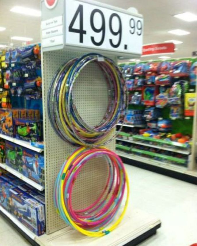 $499 for a hula hoop?