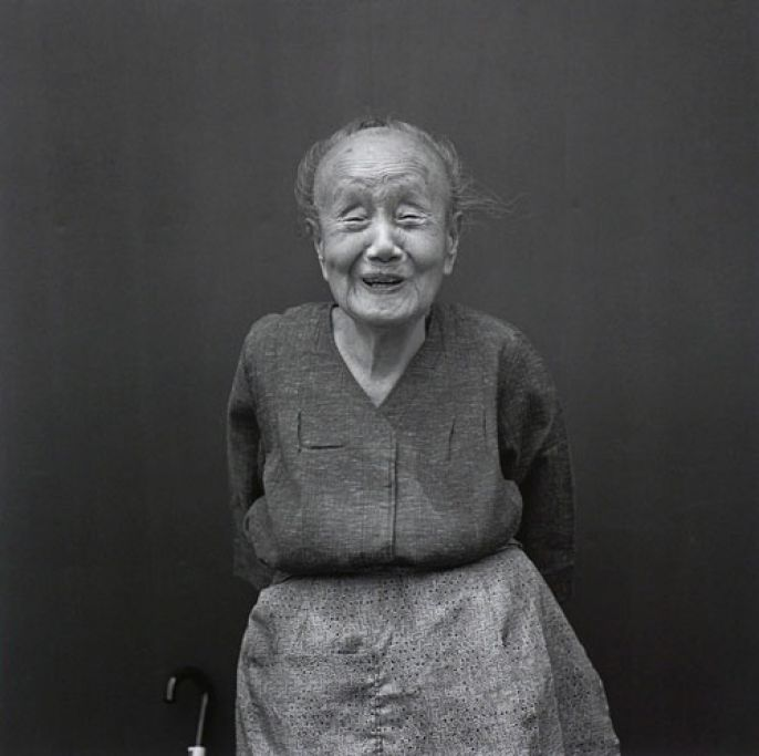 Older Woman Smile