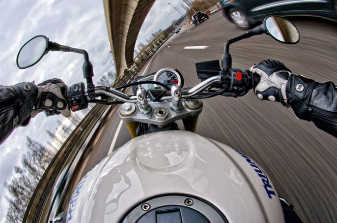Motorcycle View