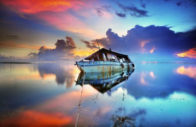 Beautiful Boat background photo