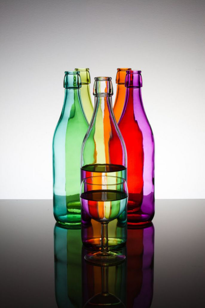 Bottle Reflections