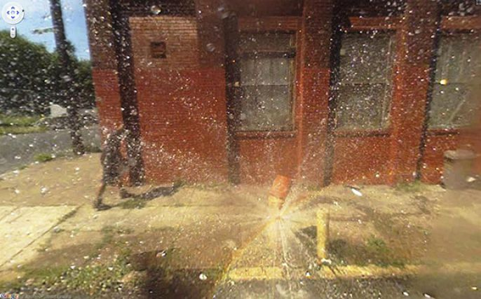 Fire Hydrant Explosion