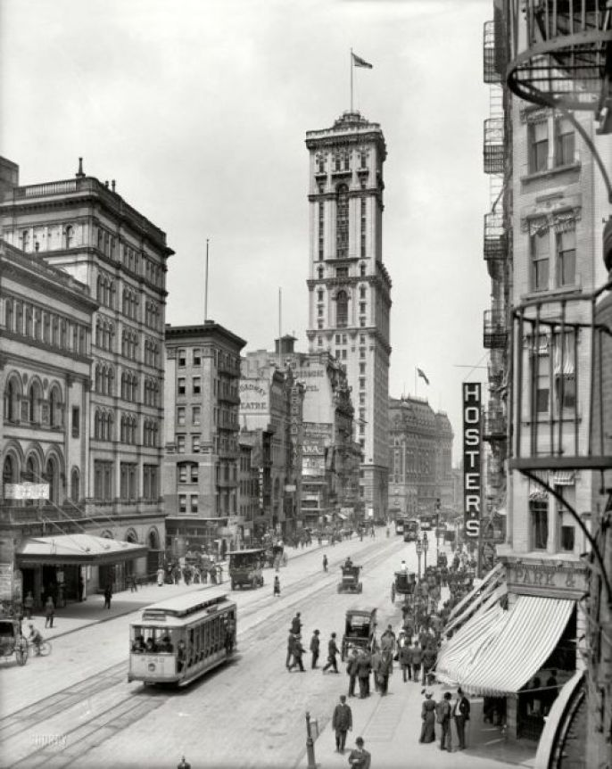 Incredible Photos - What American Cities Looked Like A Hundred Years Ago