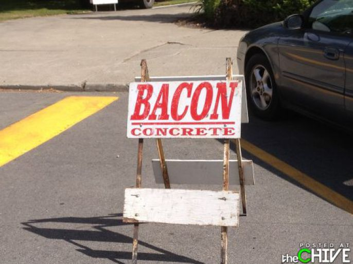 Bacon Concrete