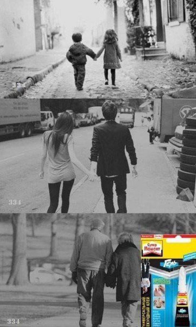 Love through the years