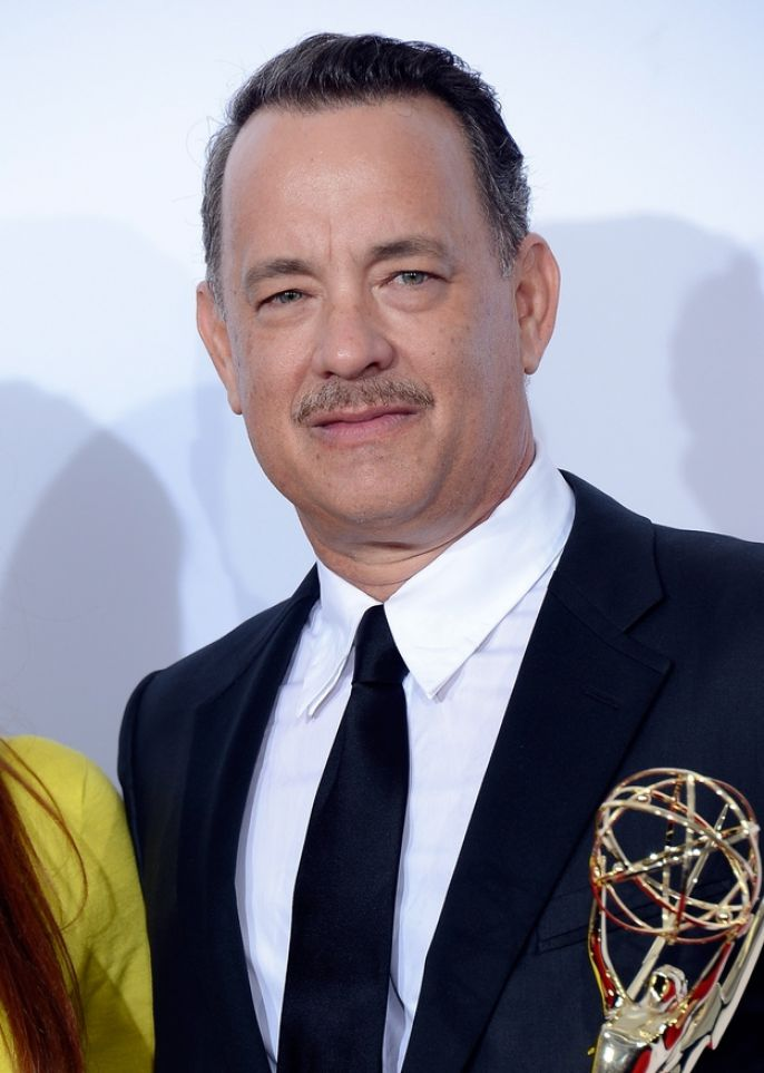 Tom Hanks With His Grammy