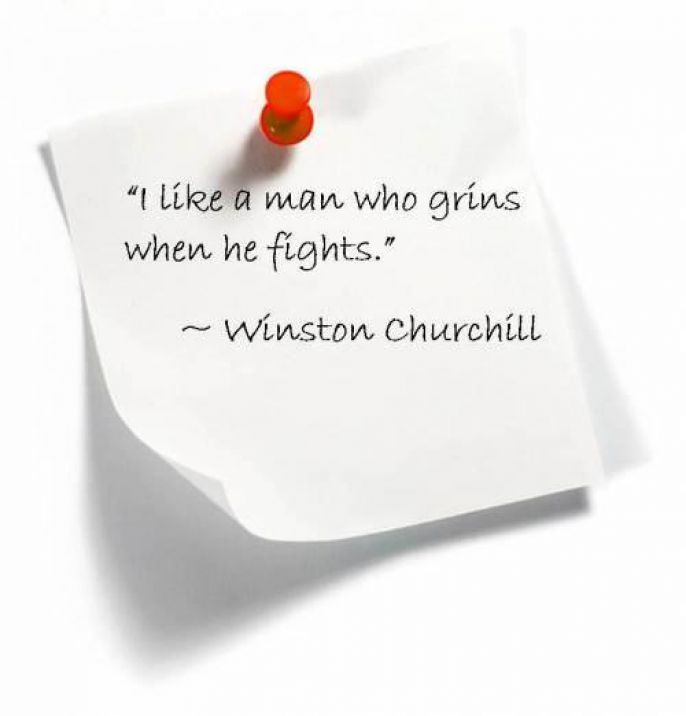 Winston Churchill  fighter