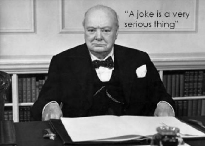Winston Churchill  Serious Joke