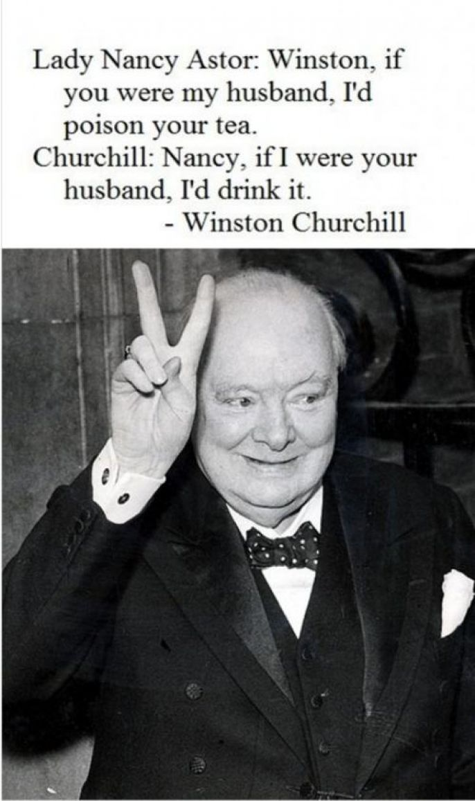 Winston Churchill Nancy Astor