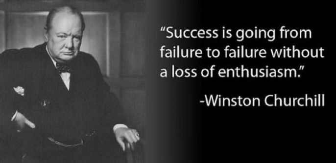 Winston Churchill  Enthusiasm