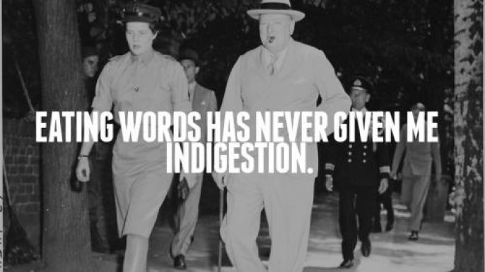 Winston Churchill  Words