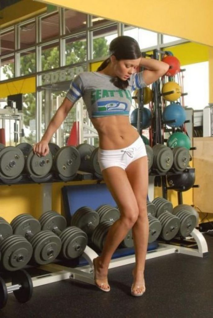 Sexy Pose with weights