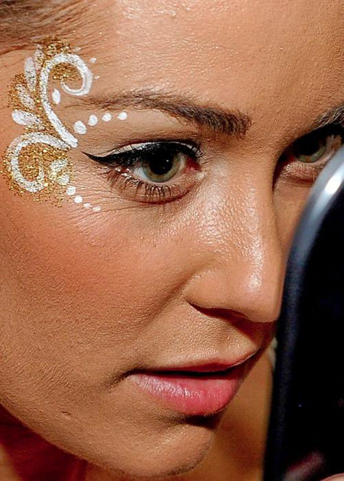 Celebrity Extreme Close Up Pictures