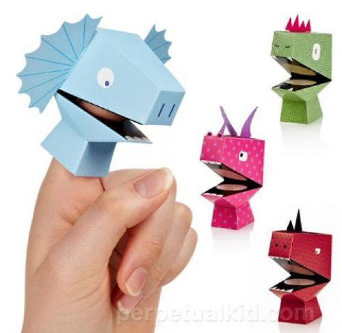 Odd Products Finger Dinosaurs