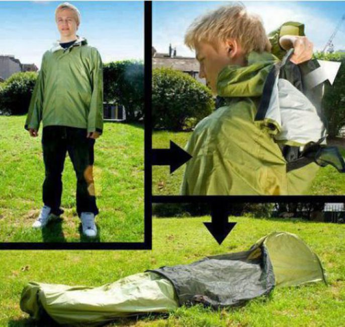 Odd Products Jacket Tent