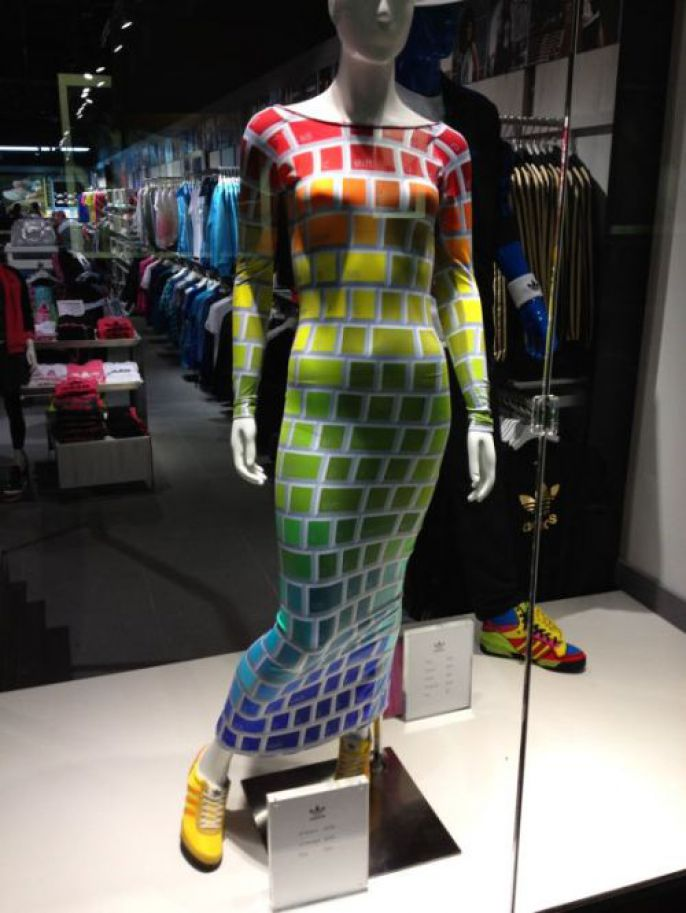 Odd Products Brick Dress