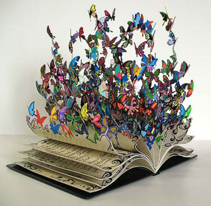 Incredible Book Butterflies