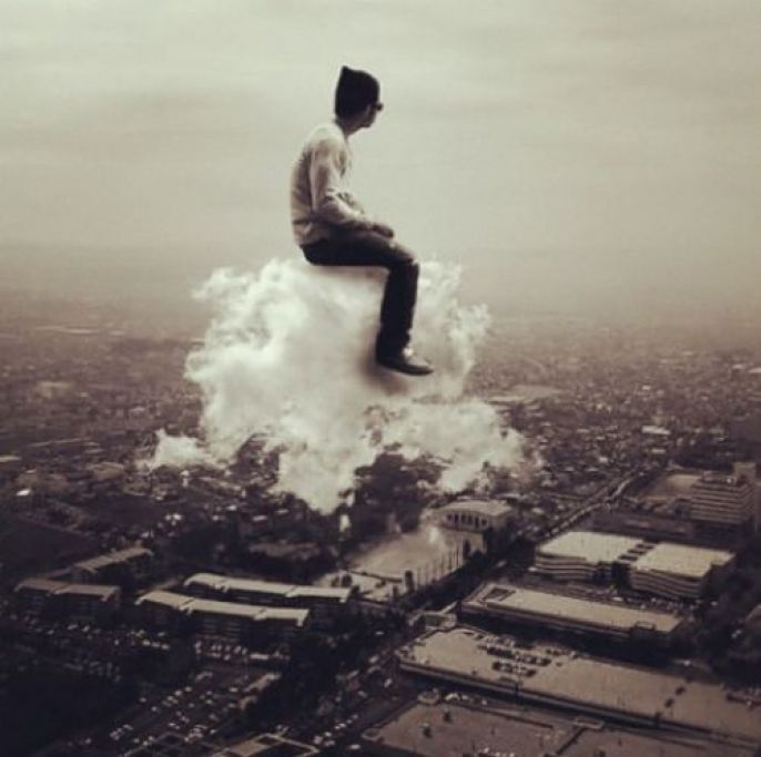 Mind Blow, Sitting on a cloud