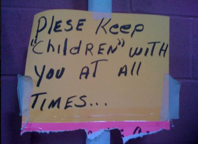 Keep Children With You