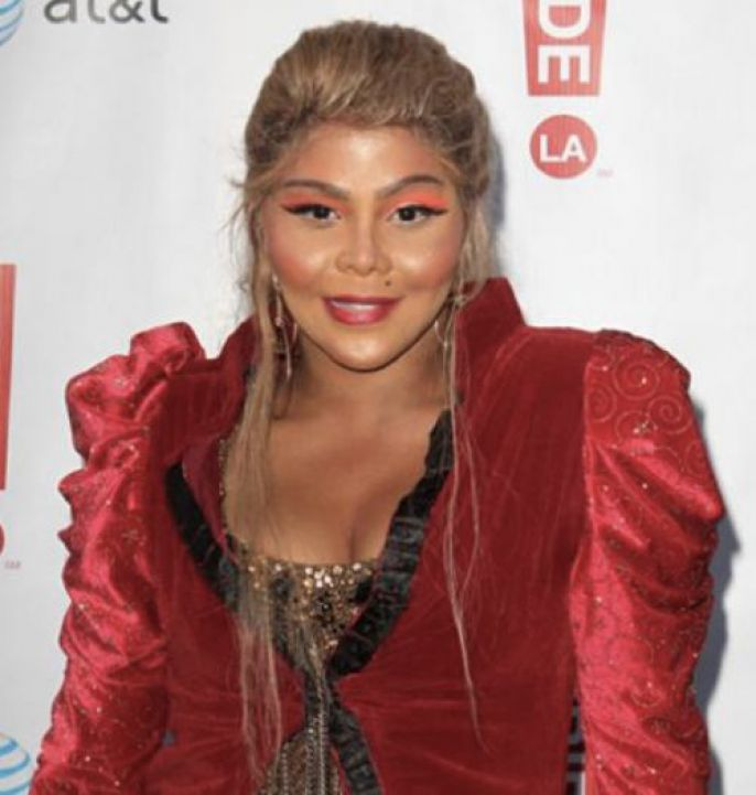 Lil Kim After Plastic Surgery