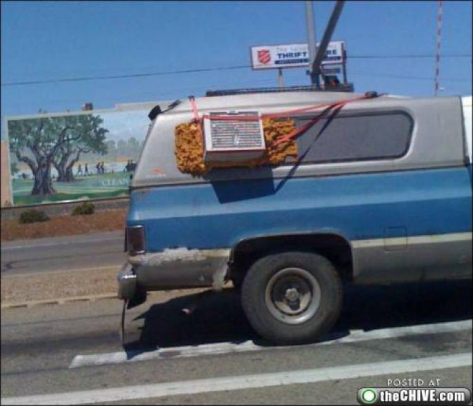 Creative Air Conditioning Car