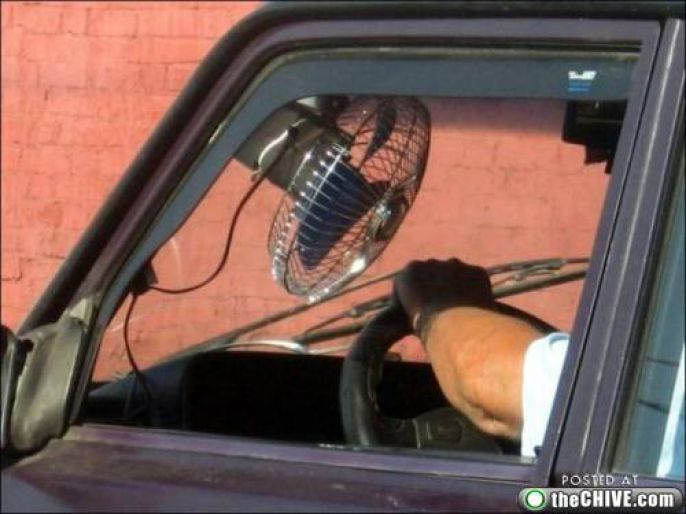 Fan In Car Enhancement