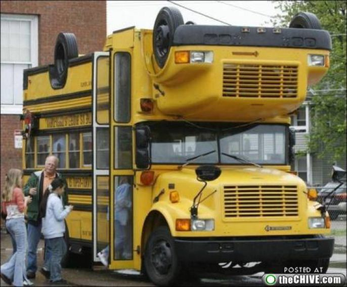 Creative School Bus