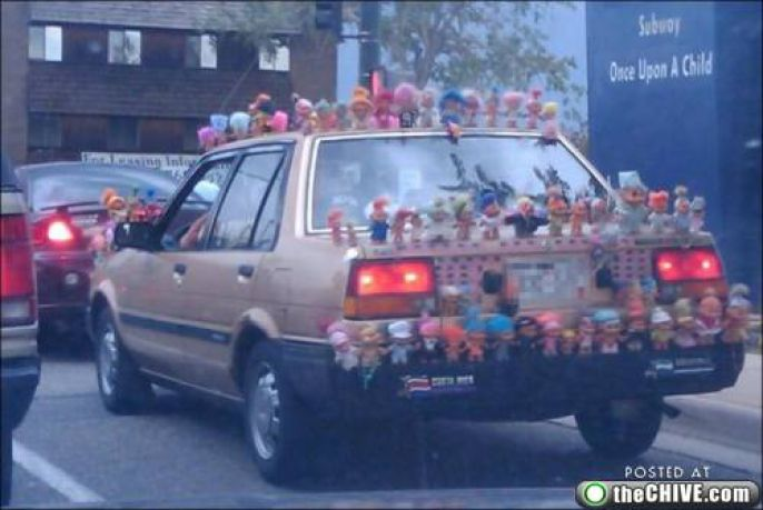 Amusing Doll Car