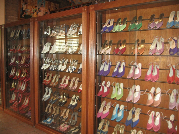 First Lady Imelda Marcos Shoe Collection Before