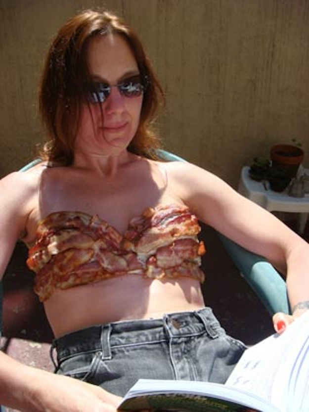 7. This Woman, Bacon Bra