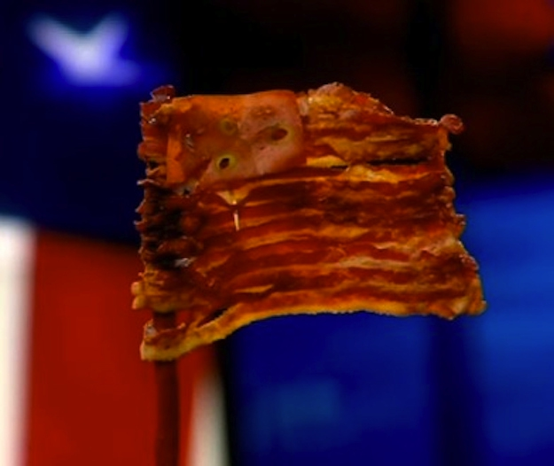 6. This Country, Bacon Flag